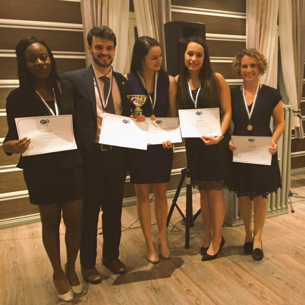 Carleton - NIBS 2017 Case winners
