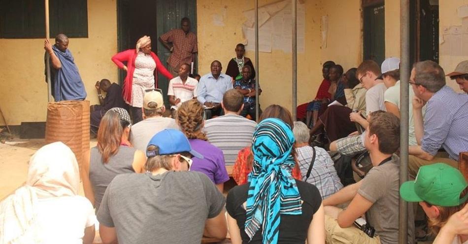 Residents of Longido District teach Carleton students