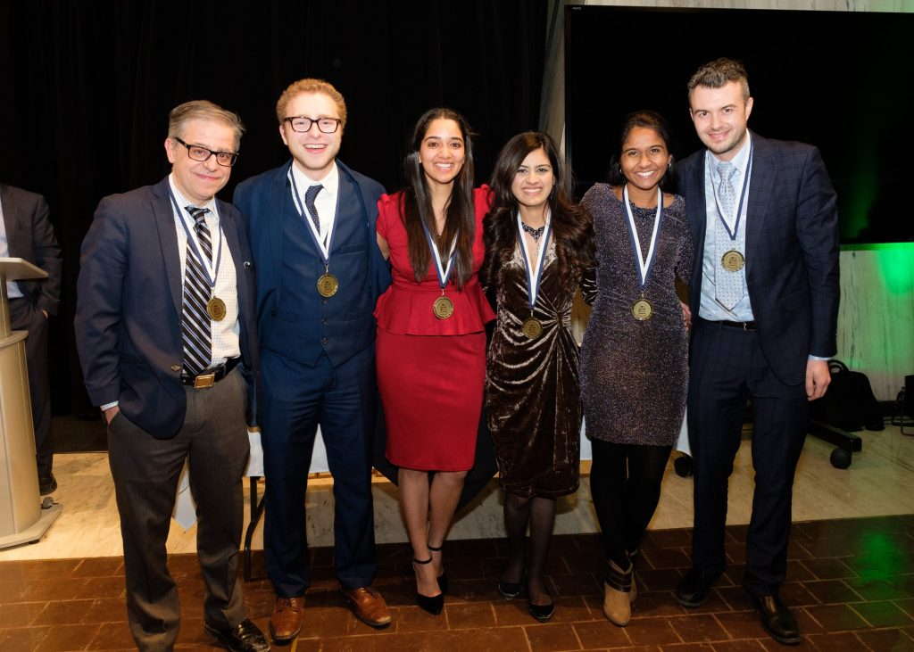 Photo of NIBS 2019 winning team from University of Guelph-Humber, Canada